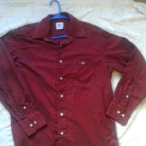 Men's Lacoste long sleeve shirt size 44